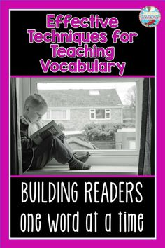 Vocabulary knowledge has been shown to directly impact a students' reading comprehension. Read this post to learn new strategies you can use for teaching vocabulary in your classroom with fun, ACTIVE ways that lead to deep thinking.