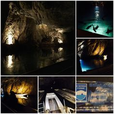 Visits to Lac Souterrain at St Léonard in Valais.  The largest underground lake in Europe... #chaleterikaVS #valais #switzerland #dayout