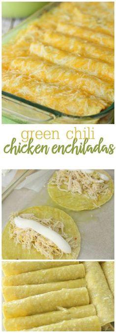 Las Palmas Chicken Enchiladas