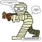 Kids Halloween Mummy Joke