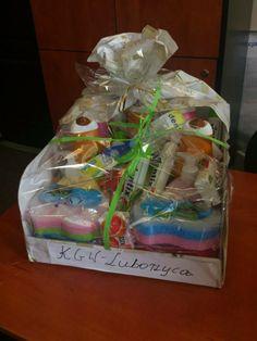 Piękna paczka przekazana przez Koło Gospodyń Wiejskich w Luborzycy - Kocmyrzowie ! Bardzo dziękujemy.