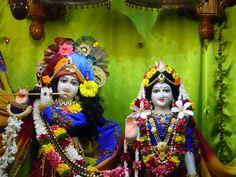 Yesterday's Darshan 26th Aug, 2012. Sri Sri Radha Kunjabihari @ISKCONPune