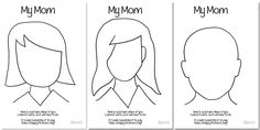 Mother's Day Coloring Page Who Arted 02