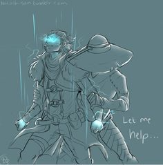 """Cole to anders/justice: """"It's not too late….I want to show you, as Varric showed me…….Let me help…."""""""