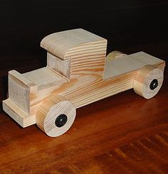 Photo: wooden toy truck