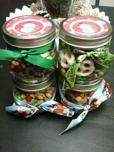 Teacher Christmas snack mix