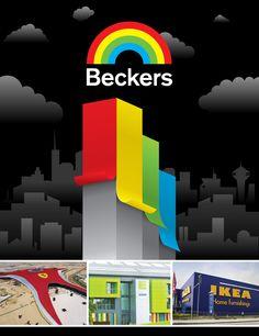 Becker Specialty Corporation Poster. Balcom-Vetillo Design.