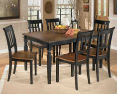 New Post square pedestal dining table with leaf
