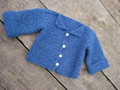 Crochet Baby Sweater Free Pattern