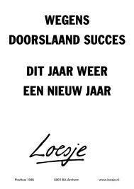 Twitter / LoesjeNL: **wegens doorslaand succes ...