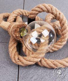 Deze touwlamp van 250cm lang met meegeleverde kooldraadlamp is een unieke aanwist en een echte eye-catcher in iedere woning. ✓ Gratis verzending