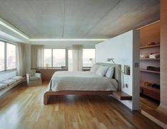 Bedroom room divider