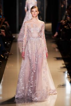 sigrid agren at Elie Saab Spring 2013 Couture