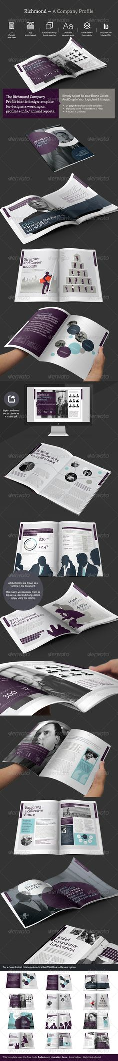 Company Profile / Review  #typographic #typography • Click here to download ! http://graphicriver.net/item/company-profile-review/7558744?s_rank=157&ref=pxcr