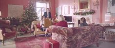 On Christmas morning somewhere in England, a family competes to give the best gift. But who will win? #WinChristmas - see the ad http://www.designvertise.com/mulberry-winchristmas