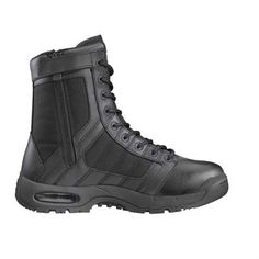 Bates Mens Raide 8 Hot Weather Side Zip Military and Tactical Boot