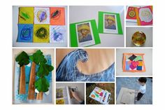 artist inspired preschool projects