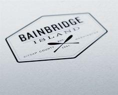 BAINBRIDGE ISLAND – Identity by Charles Ramsey, via Behance