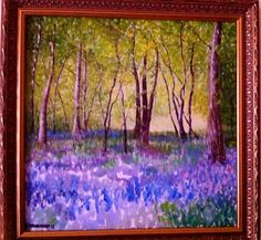 'The Enchanted woods' ~William.G.Lorimer  Oil on canvas 2013