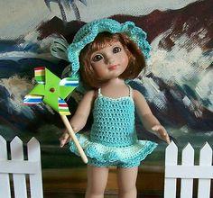 """*~ HIGH TIDE ~*  for 10"""" Tonner Patsy, Ann Estelle & similar dolls"""