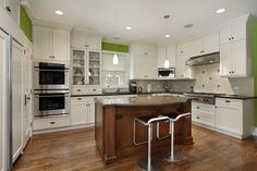 Luxury kitchen cabinets luxury kitchen design ideas custom cabinets part . Cheap Kitchen Cabinets, Painting Kitchen Cabinets, Kitchen Paint, Custom Kitchens, Luxury Kitchens, White Kitchens, Small Kitchen Layouts, Kitchen Designs, Luxury Kitchen Design