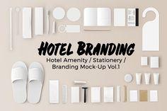 Hotel Amenity / Branding Vol.1 - Product Mockups