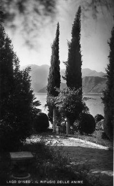 Scorcio del lago d'Iseo - anni 50