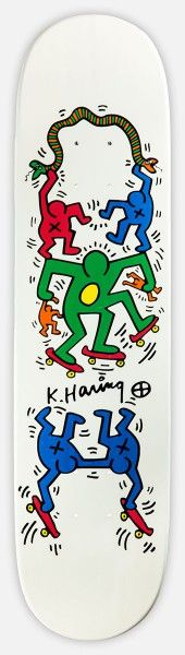 Keith Haring 'Untitled' by The Skate Room Apparel Company, Clothing Company, History Projects, Art History, Pop Art, Keith Allen, Keith Haring Art, Memphis Art, Snowboard Design