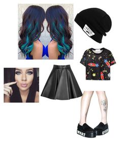 """Video games"" by smileyface3101 on Polyvore featuring MSGM, T.U.K. and Vans"