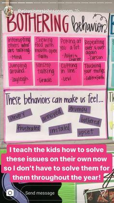 Mouth Open, Classroom Behavior, Positive Behavior, 5th Grades, Leadership, Youth, Positivity, Feelings, How To Make