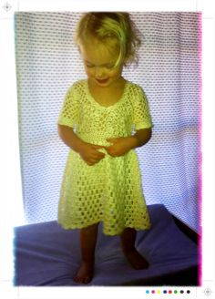 Custom crochet girls dress by beijobaby on Etsy