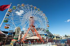 Ferris Wheel And Harbour Bridge - Download From Over 27 Million High Quality Stock Photos, Images, Vectors. Sign up for FREE today. Image: 25924716