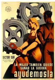 Resultado de imagen de carteles de la guerra civil española bando nacional