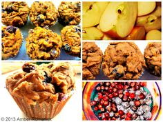 Apple Berry Cinnamon Teff Muffins by Amber Romaniuk www.nourishthislife.ca