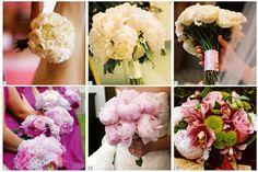 #Peony #bouquets