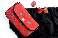 lingerie, pochette, broche / la couture rose