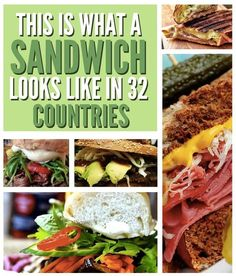 32 Delicious Sandwiches From Around The World
