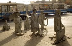Poland Wroclaw statues  http://wroclaw.awesomepoland.com/ #wroclaw #poland