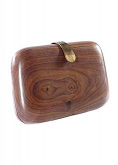 Anan's Solid Wood Clutch