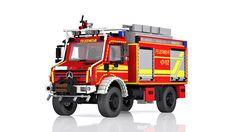 Unimog U 5000 wildland fire truck / Tanklöschfahrzeug-Waldbrand | von Niklas-B
