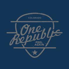 Dribbble - OneRepublic_Detail.jpg by Jeff Breshears