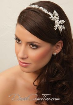 hairstyle with tiara