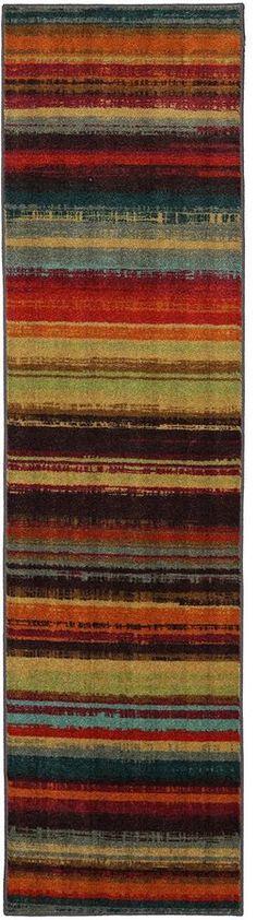 Mohawk Home Boho Stripe Runner Rug