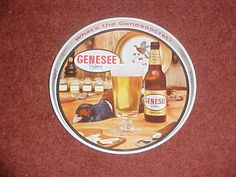 Vintage Genesee  Beer - Bar Tray.