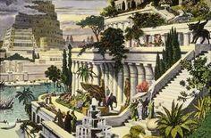 La Puerta de los Dioses, jardines de Babilonia