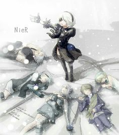 NieR Automata this is the logical continuation of the series games Drakengard