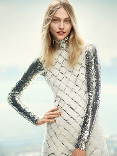 Sasha Pivovarova by Boo George for Vogue China June 2015