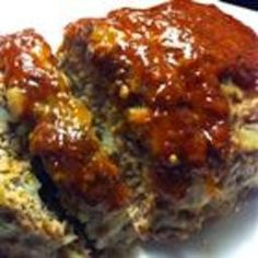 great meatloaf - Chef John Folse's Bacon Cheeseburger Meatloaf