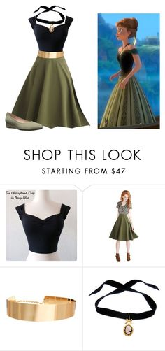"""Anna Coronation"" by jasminevans ❤ liked on Polyvore featuring Disney, ASOS, Bisou Bijoux Ariela and Taryn Rose"