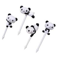 Torune Bento Pick - Panda Cocktailpinde - 8 Stk.